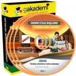 SMMM Staja Başlama Türkçe Çözümlü Soru Bankası Eğitim Seti 3 DVD