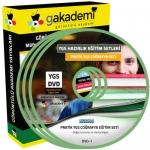 YGS Coğrafya Çözümlü Soru Bankası Eğitim Seti 13 DVD