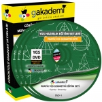 YGS Geometri Çözümlü Soru Bankası Eğitim Seti 11 DVD