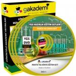 YGS Kimya Çözümlü Soru Bankası Eğitim Seti 9 DVD