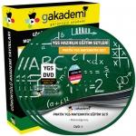 YGS Matematik Çözümlü Soru Bankası Eğitim Seti 20 DVD