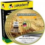 YGS Tarih Çözümlü Soru Bankası Eğitim Seti 14 DVD