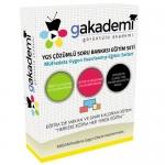 YGS Tüm Dersler Çözümlü Soru Bankası Eğitim Seti 114 DVD