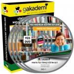 YGS Türkçe Çözümlü Soru Bankası Eğitim Seti 13 DVD