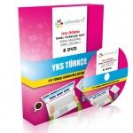 YKS TYT Türkçe Görüntülü Eğitim Seti 8 DVD