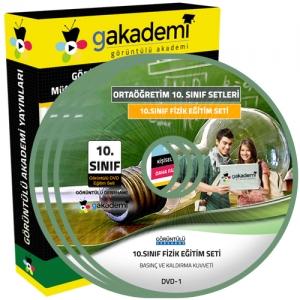 10.Sınıf Fizik Görüntülü Eğitim Seti 4 DVD
