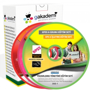 KPSS A İşletme Görüntülü Eğitim Seti 42 DVD