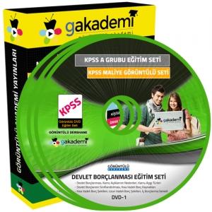 KPSS A Maliye Görüntülü Eğitim Seti 25 DVD