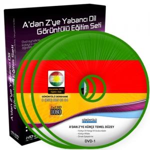 Kürtçe Temel Düzey Görüntülü Eğitim Seti 9 DVD