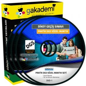 Pratik DGS Sözel Mantık Çözümlü Soru Bankası 7 DVD