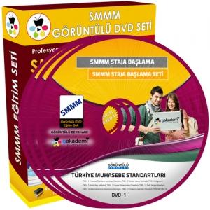 SMMM Staja Başlama Türkiye Muhasebe Standartları Seti 2 DVD