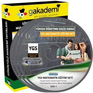 YGS Matematik Görüntülü Eğitim Seti 17 DVD