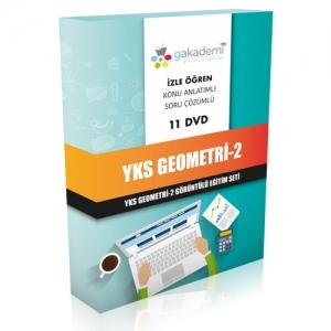YKS Geometri 2 Görüntülü Eğitim Seti 11 DVD