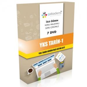 YKS Tarih 1 Görüntülü Eğitim Seti 7 DVD