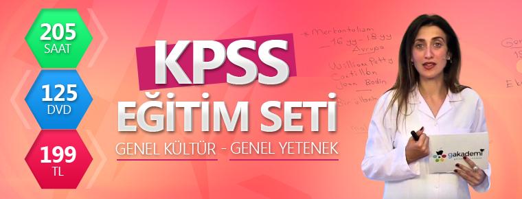 KPSS Eğitim Setleri